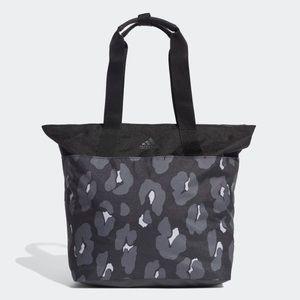 Adidas ID gym bag tote bag leopard floral